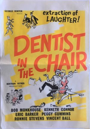 dentist in the chair new zealand daybill poster 1960