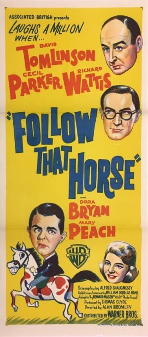 follow that horse daybill move poster 3