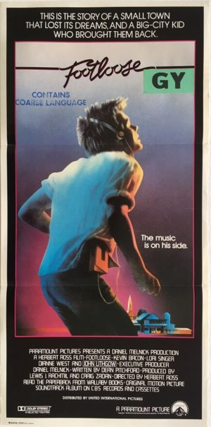 footloose daybill poster