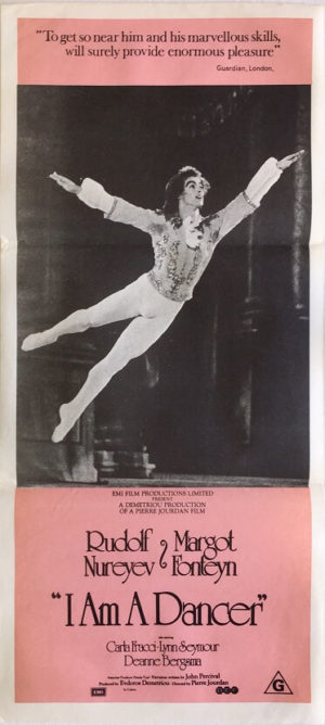 i am a dancer daybill poster