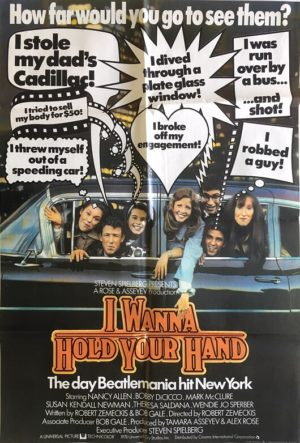 i wanna hold your hand uk one sheet movie poster the beatles story 1978