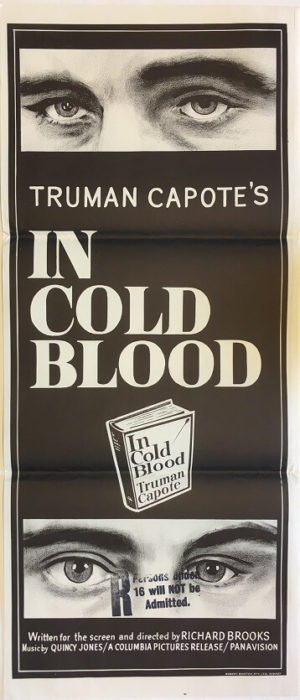 in cold blood daybill poster