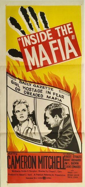 inside the mafia daybill poster
