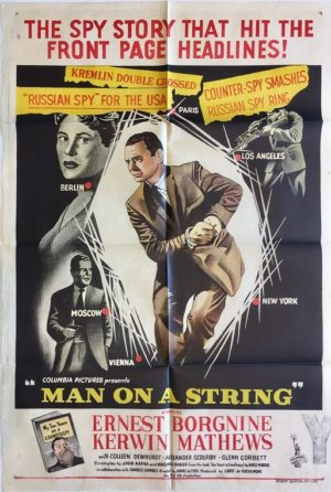 man on a string australian one sheet poster