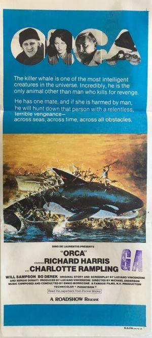 orca australian daybill poster