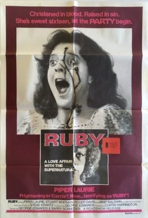 ruby australian one sheet poster