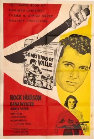 something of value australian one sheet movie poster