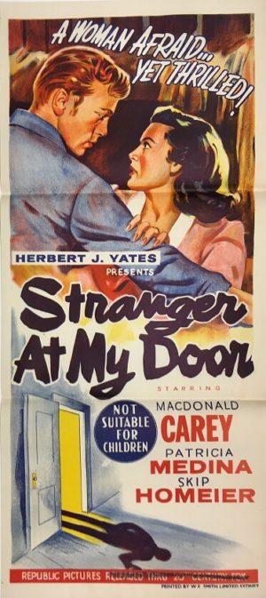 stranger at my door australian daybill movie poster 2