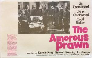 the amorous prawn promotional flyer