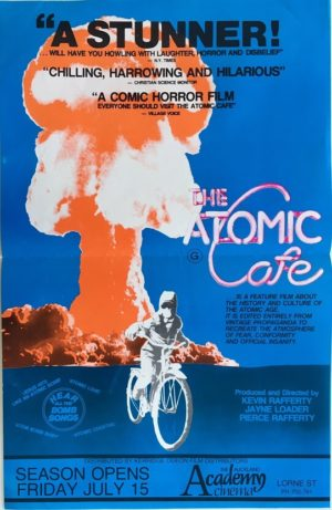 the atomic cafe daybill poster