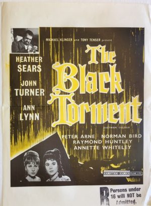 the black torment new zealand daybill poster