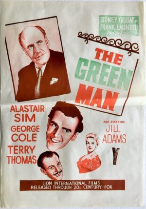 the green man new zealand daybill poster