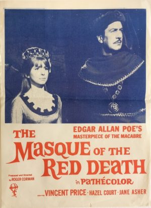 the masque of the red death new zealand daybill poster