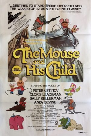 the mouse and his child one sheet movie poster 1977