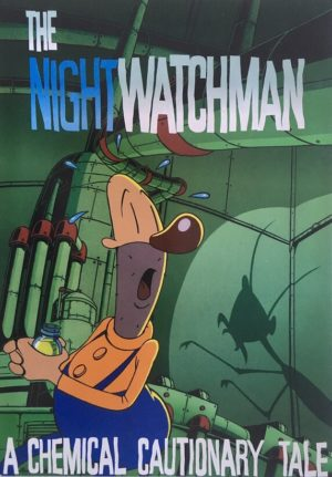 the nightwatchman new zealand promotional card front