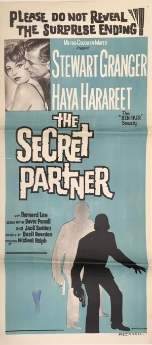 the secret partner daybill movie poster 2