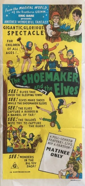 the shoemaker and the elves daybill poster 1