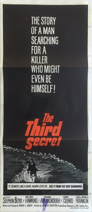 the third secret daybill movie poster with jack hawkins and richard attenborough
