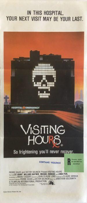 visiting hours australian daybill poster