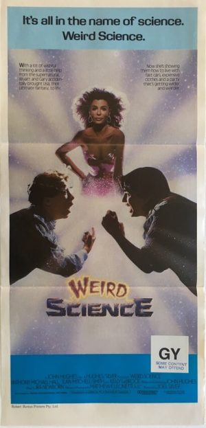 weird science australian daybill poster