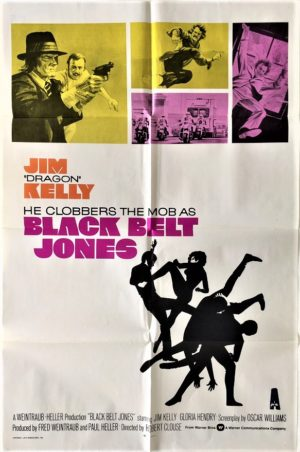 black belt jones us one sheet movie poster featuring jim kelly