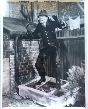 carry on constable large publicity still 1960 with Leslie Phillips