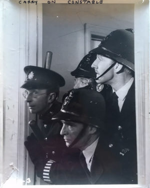 carry on constable UK large publicity still 1960