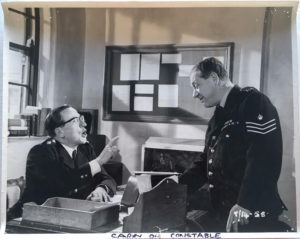 carry on constable UK large publicity still 1960 with Sid James and Eric Baker