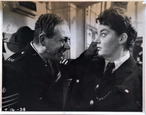 carry on constable UK large publicity still 1960 with Sid James and Hattie Jacques
