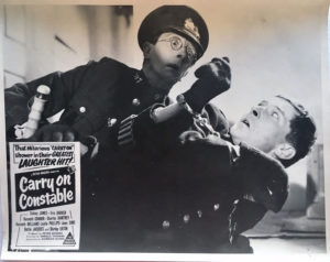 carry on constable australian lobby card 1960