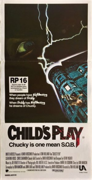 childs play australian daybill poster