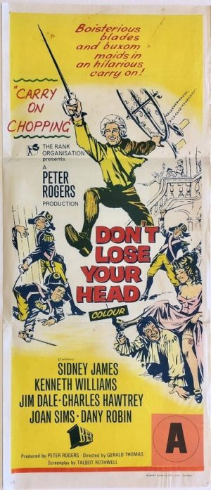 don't loose your head or carry on chopping australian daybill poster (1)