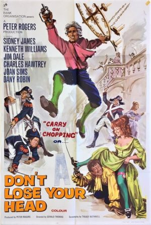 don't loose your head or carry on chopping uk one sheet film poster (1)