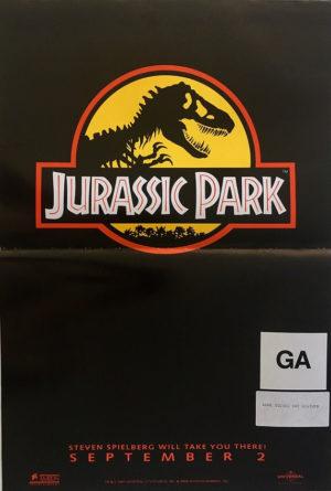 jurassic park australian mini poster 2