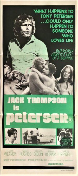 peterson australian daybill poster 1975