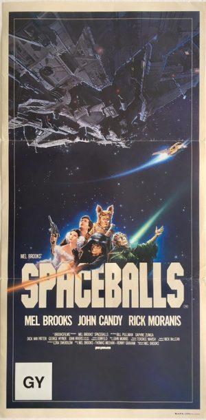spaceballs australian daybill poster