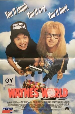 Wayne's World mini poster 1994