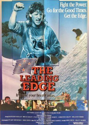 the leading edge new zealand one sheet poster 1987