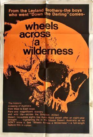 wheels across a wilderness australian one sheet poster 1966 (1)