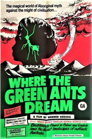where green ants drem new zealand one sheet movie poster (4)