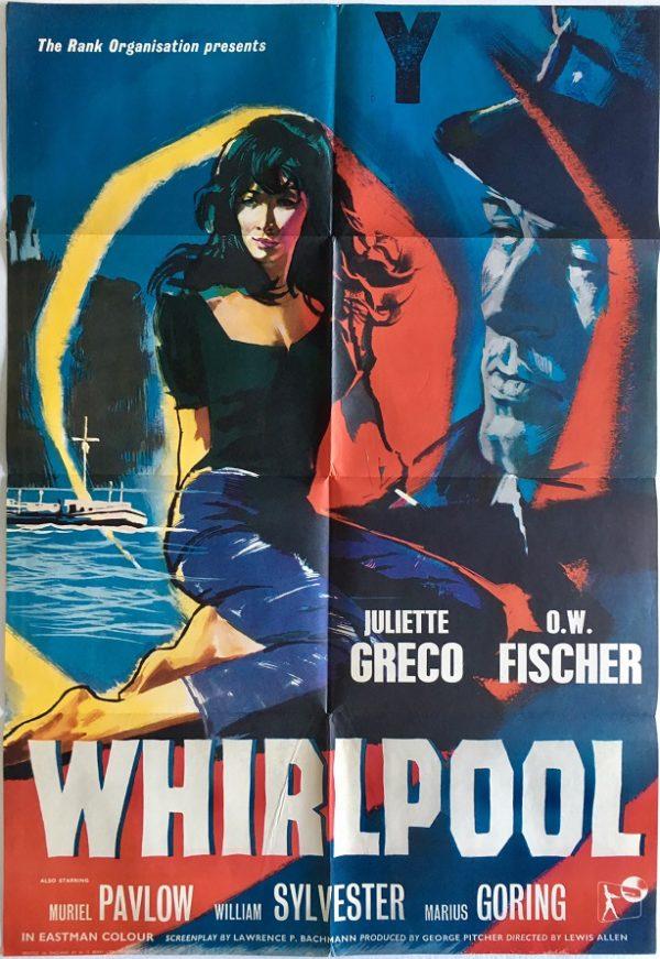 whirlpool 1959 UK one sheet original film poster (1)