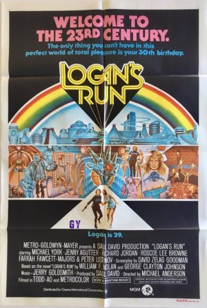 Logan's run australian one sheet movie poster 2