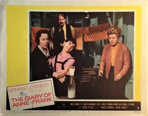 The Diary Of Anne Frank Lobby Card (1)