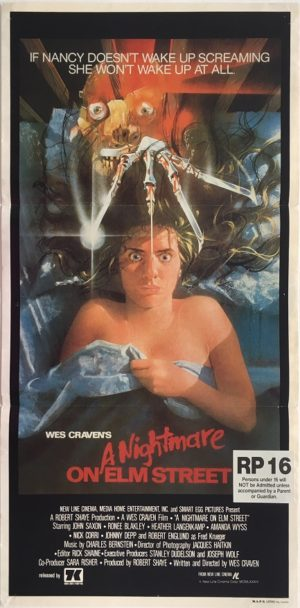 a nightmare on elm street australian daybill poster (1)