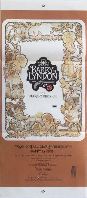 barry lyndon australian daybill poster stanley kubrick (1)