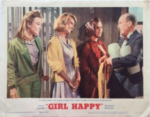 girl happy elvis presley US lobby cards (4)