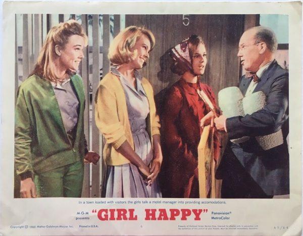 girl happy elvis presley US lobby cards (4)