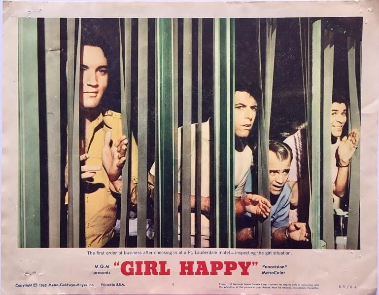 girl happy elvis presley US lobby cards (5)