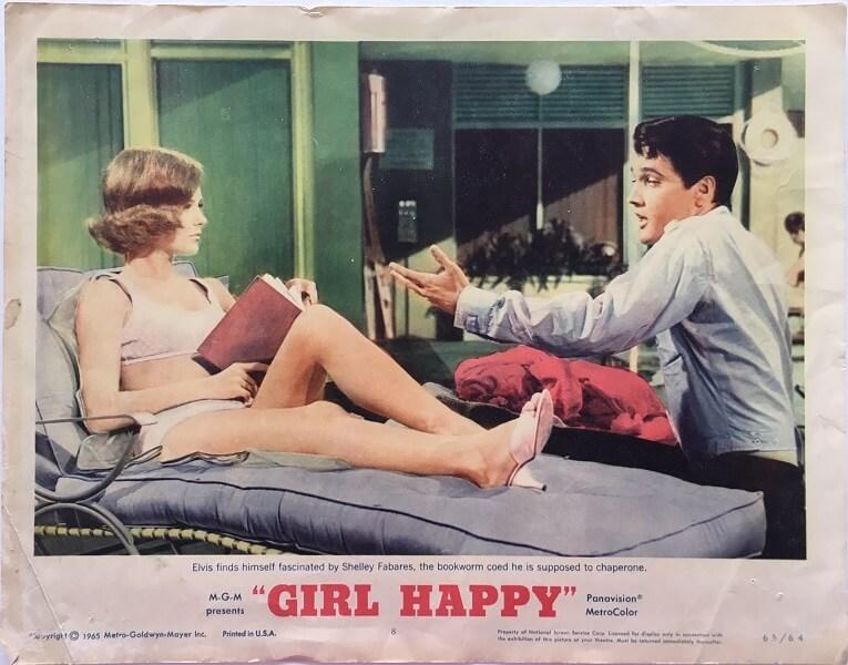 girl happy elvis presley US lobby cards (7)
