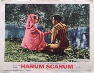harum scarum elvis presley lobby card 4